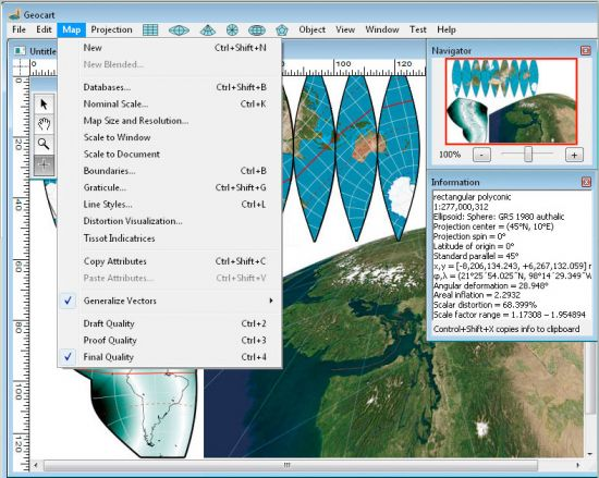 Working with Mapthematics GeoCart 3.3.5 full license