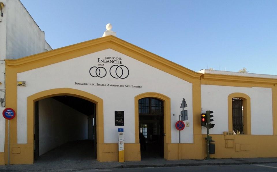 cuadra edificio exterior Museo del Enganche Jerez de la Frontera Cadiz