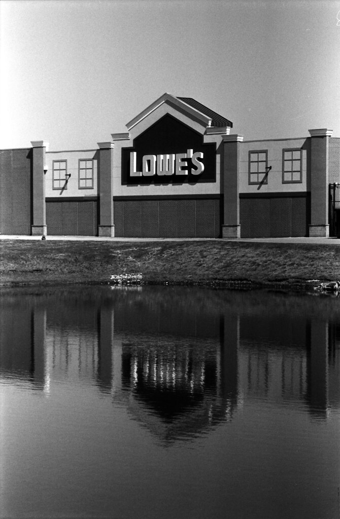 Lowe's reflected