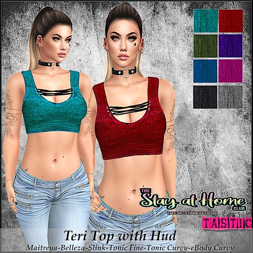 Tastic-Teri Top with Hud free gift!!