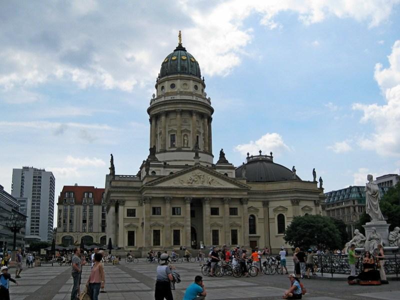 IMG_4081 Berlin, Gendarmenmarkt, Deutscher Dom