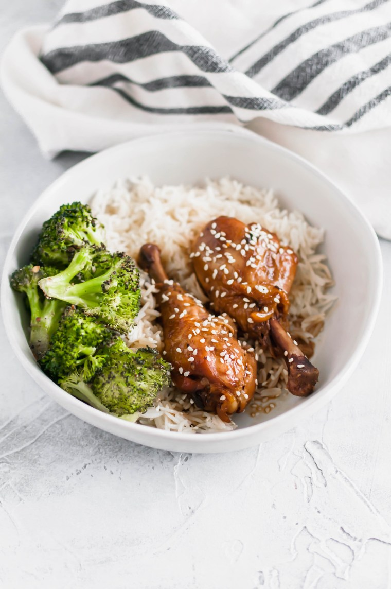 These Slow Cooker Teriyaki Chicken Drumsicks are the perfect meal when you're short on ingredients and the desire to cook. You're going to love this one.