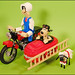 Wallace and Gromit RC Motorcycle with sidecar 2