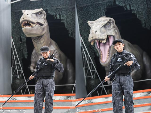 Peps Goh at Jurassic World USS 2018