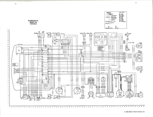 BMW NA Wiring Diagram (Source-Tom Cutter, Rubber Chicken Racing Garage)
