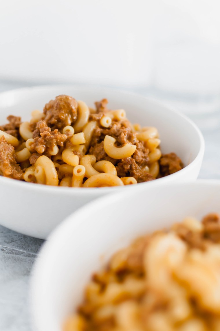 With just a few simple ingredients you can have Homemade Hamburger Helper. It's done in less than 30 minutes, making it the perfect weeknight meal.