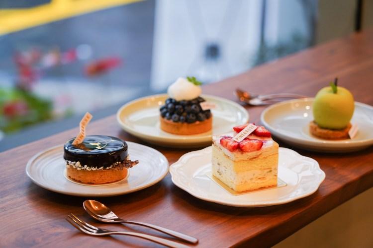 東門甜點推薦|PINE&ROSE:坐落在鬧中取靜的街區,享用純正日本道地甜點,這樣的東門下午茶相當愜意!