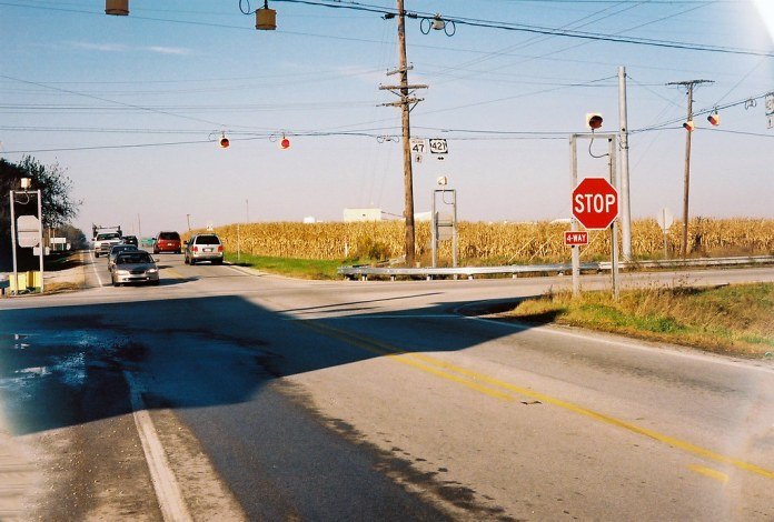 SR 47 at Michigan Road