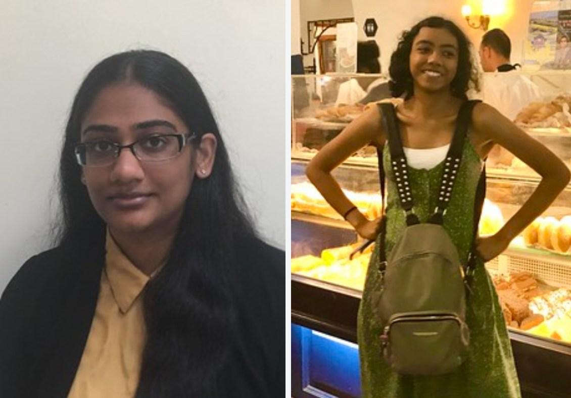 Shreya and Nushi