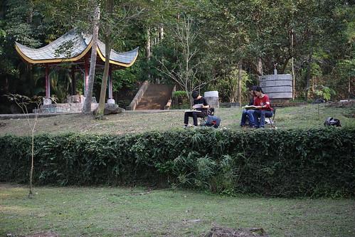 【寫生】嘉義公園:來畫陳澄波熟悉的嘉義公園(15.6ys)