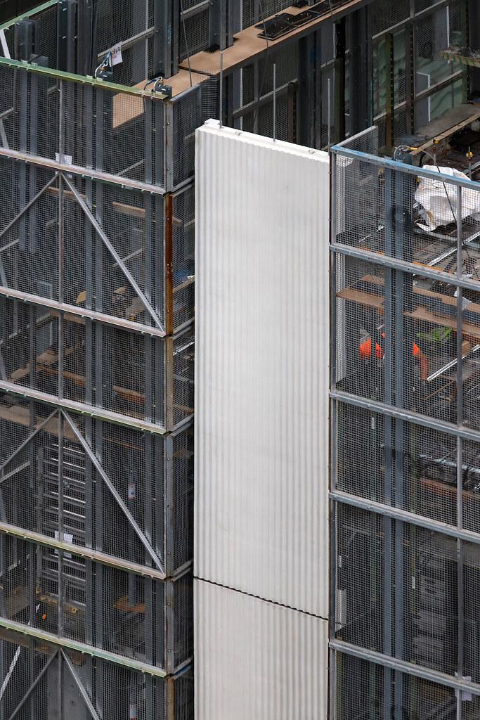UNILODGE UNDER CONSTRUCTION, ELIZABETH STREET, MELBOURNE :copyright: