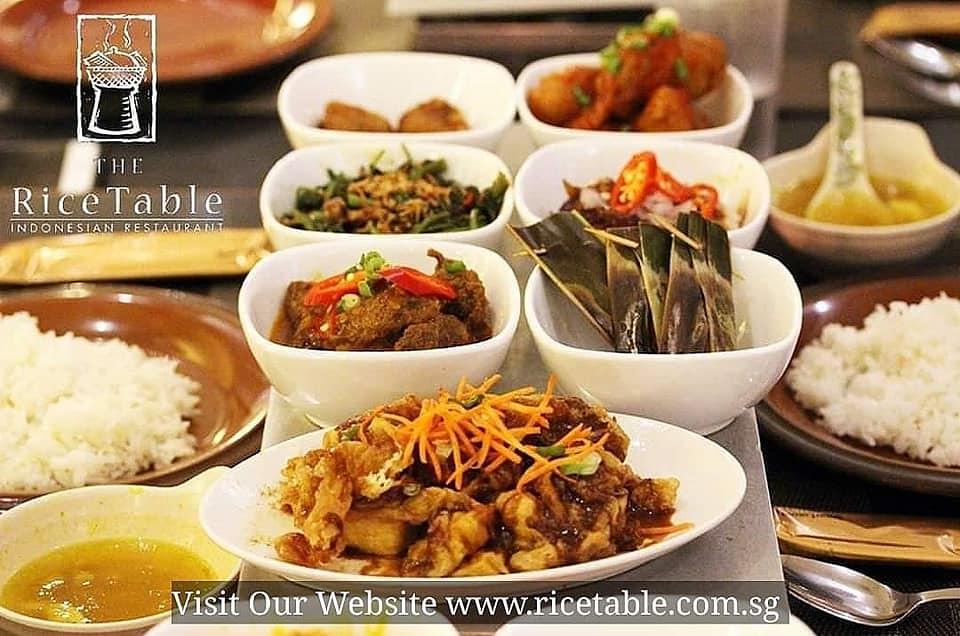 Ricetable Indonesian restaurant