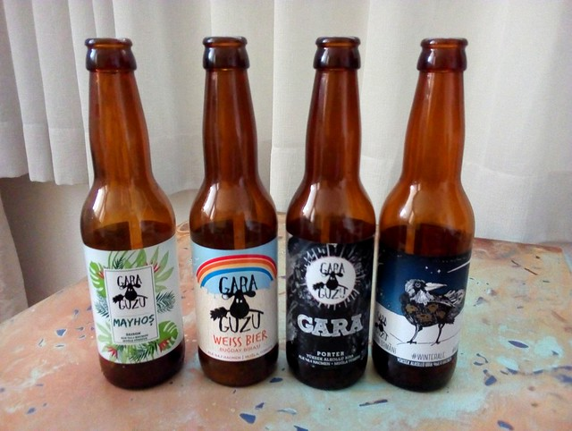 Mayhoş (saison style), Weiss, Porter, Karlı Kayın Ormanı Winter Ale -- all from Gara Guzu in Muğla by bryandkeith on flickr