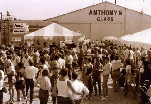 San Diego Pride Festival,at West Coast Production Company (WCPC), c.1984
