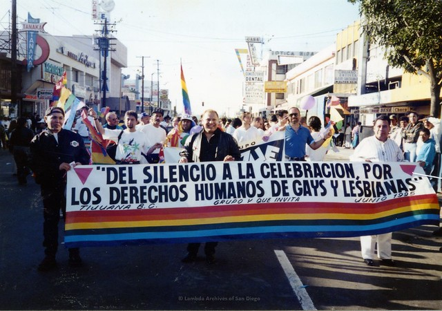 First Tijuana LGBT Pride Parade, 1995