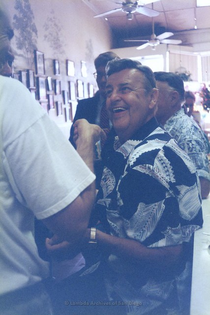 """Queen Eddie""- Eddie Conlan at Special Delivery Anniversary, San Diego  1998"