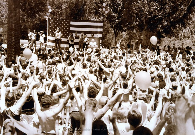 San Diego Pride Festival at Balboa Park, c.1983