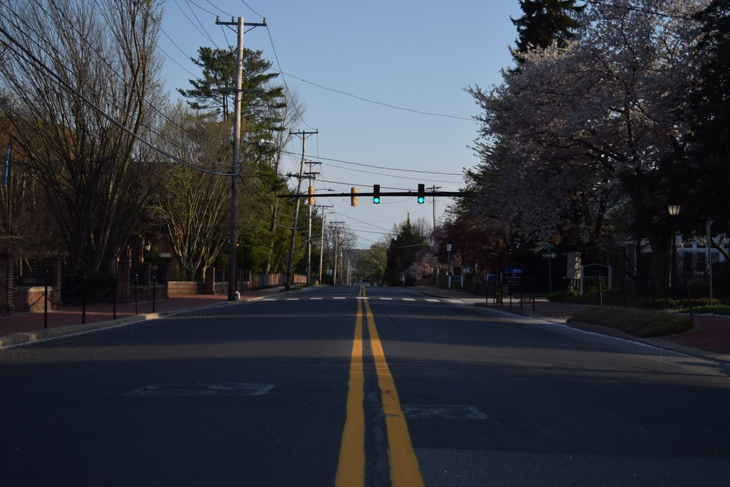 empty south college ave.