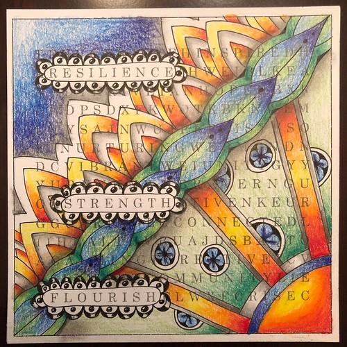 Unity Tile by Laurel Storey, CZT