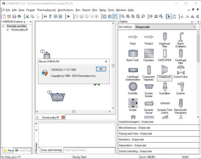 How To Crack Chemstations Chemcad Suite 7 1 5 11490 Click To Download Full Softs Tips Ebook
