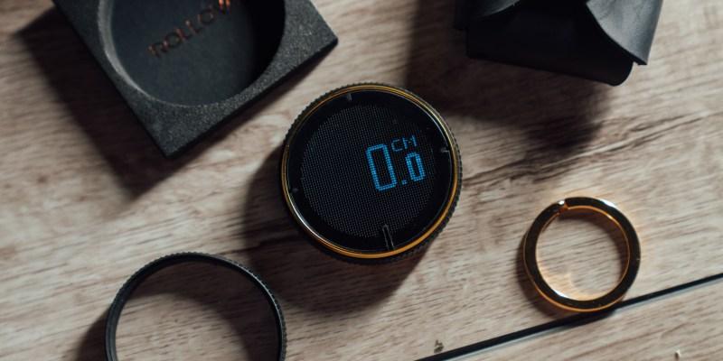 生活小物推薦 HOZO Design ROLLOVA 2.0 電子捲尺:送禮新選擇,居家生活設計師必須擁有,小巧好攜帶