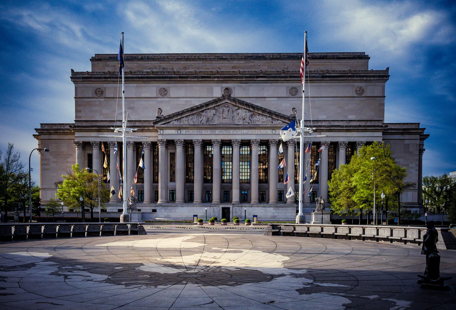 Photo Friday: Navy Memorial and National Archives, Washington, DC USA