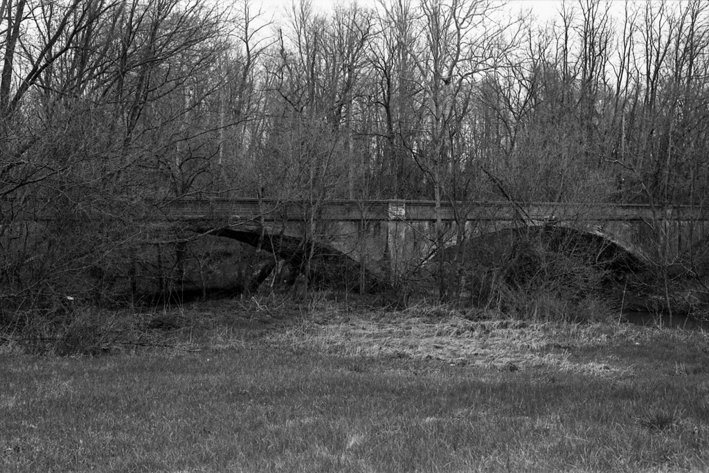 Abadoned US 40 bridge