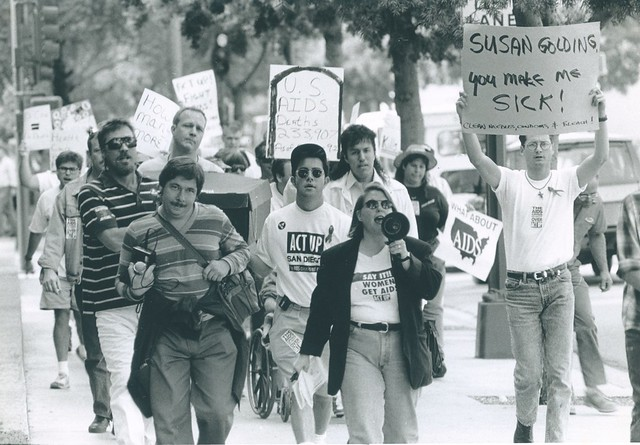 ACT UP Marchers, 1992