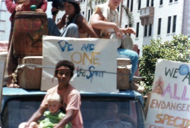 San Diego Gay Pride Day Parade, 1977