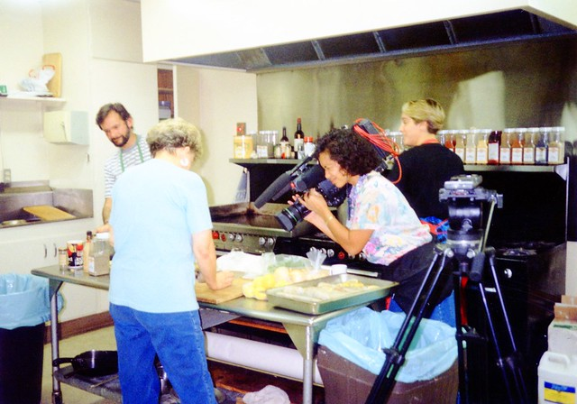 Channel 10 San Diego at Mama's Kitchen, 1991