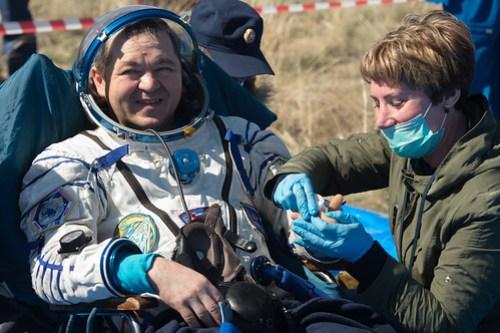 Expedition 62 Soyuz Landing (NHQ202004170012)