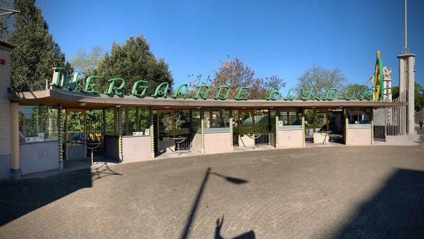 Rotterdam Daily Photo: Confinement, the zoo, who is locked up now?