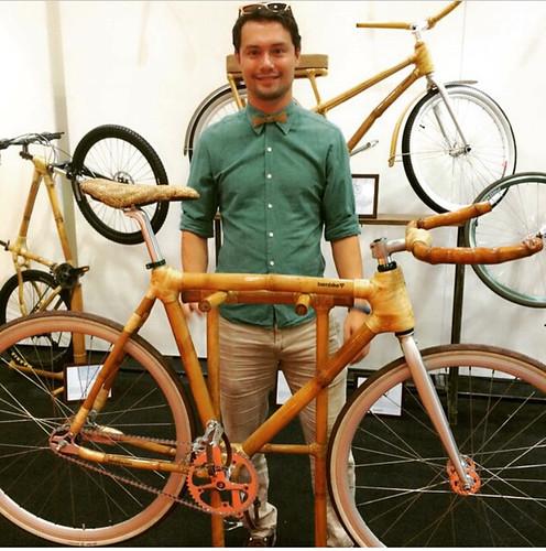 Bryan McClelland Bamboo Bike Discovery Channel