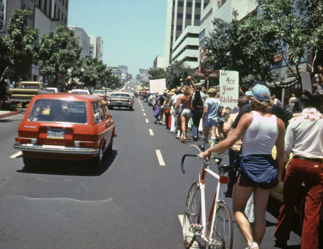 San Diego Gay Pride Day Parade, 1977
