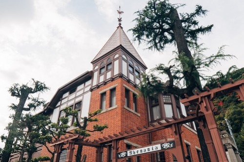Weathercock House (風見鶏の館), Kobe, Japan