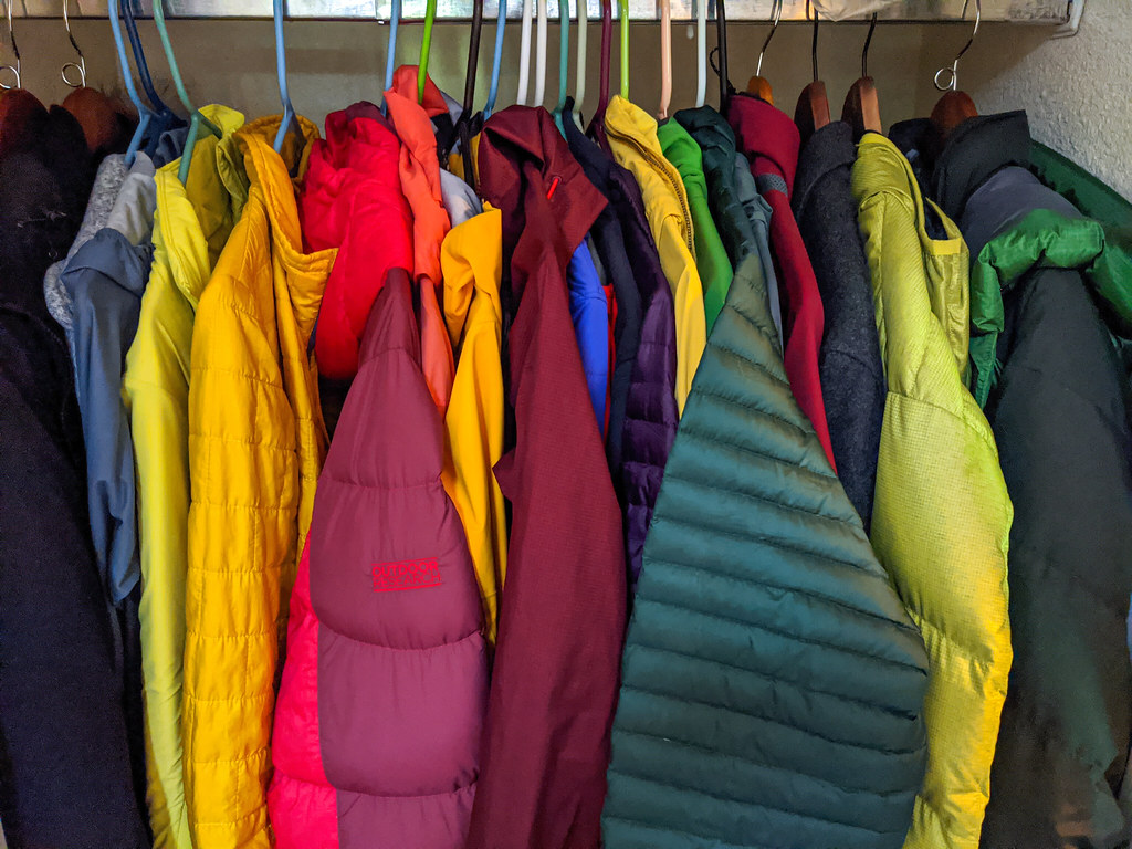 outdoor jacket storage