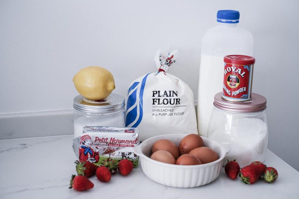 Strawberry Sable Breton