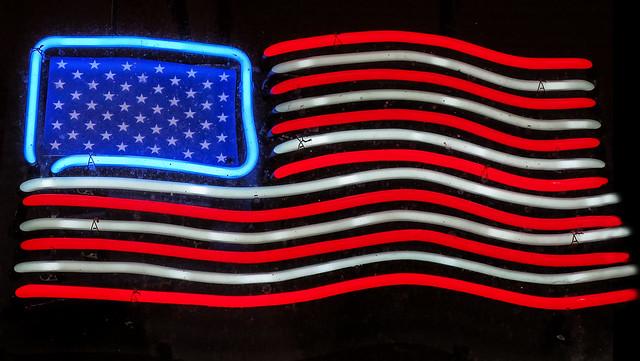 Neon Flag