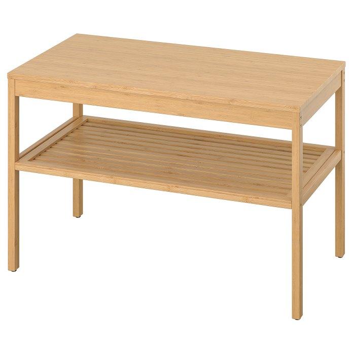 NORDKISA Bench, bamboo