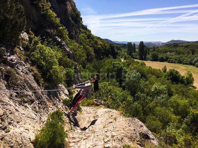 Foz de Lumbier ruta corta · Excursiones por Navarra