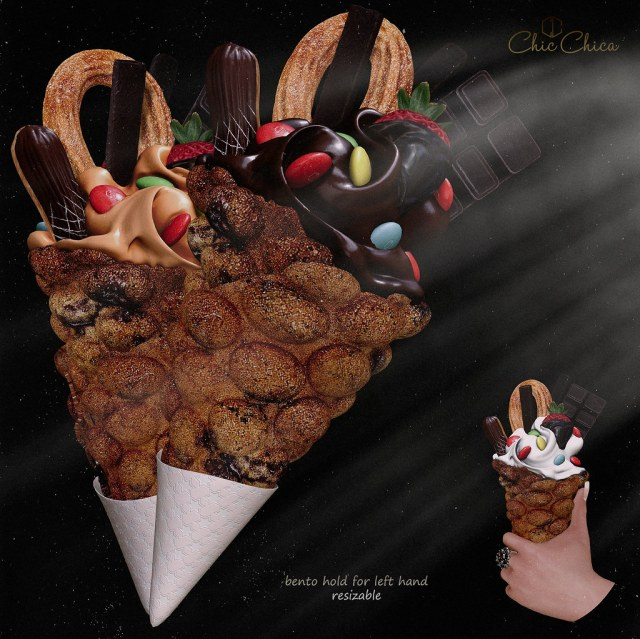 Bubble waffles by ChicChica @ Equal10