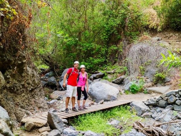 Senderismo en el Barranco del Infierno de Tenerife