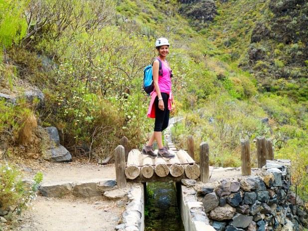 Caminata en el Barranco del Infierno