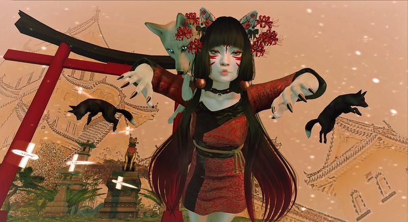 Kitsune Temple -  Enchantment