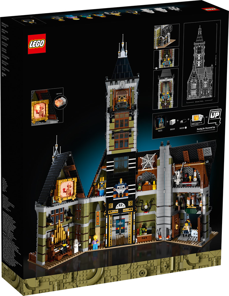Lego 10273 Haunted House Fairground Collection L Annonce