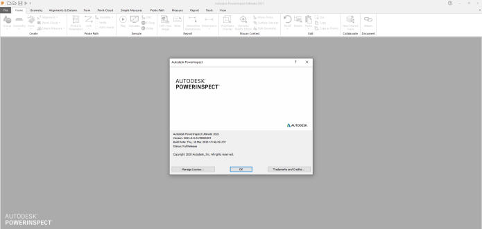 Working with Autodesk PowerInspect Ultimate 2021 full license