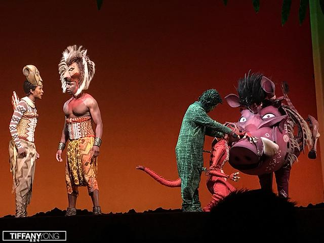 The Lion King Musical 2018 Simba Nala