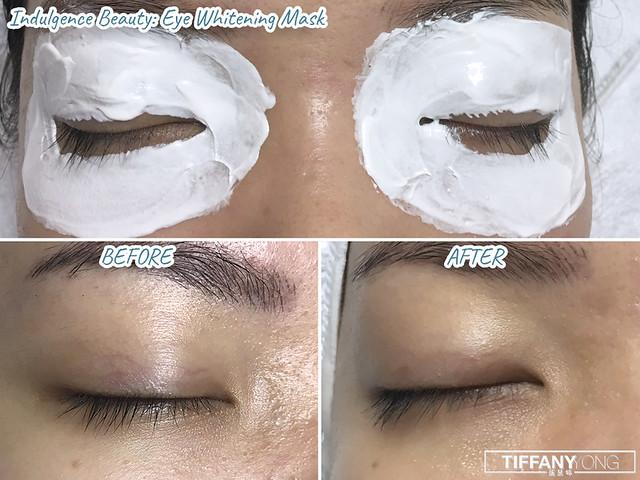 Indulgence Beauty Eye Whitening Mask