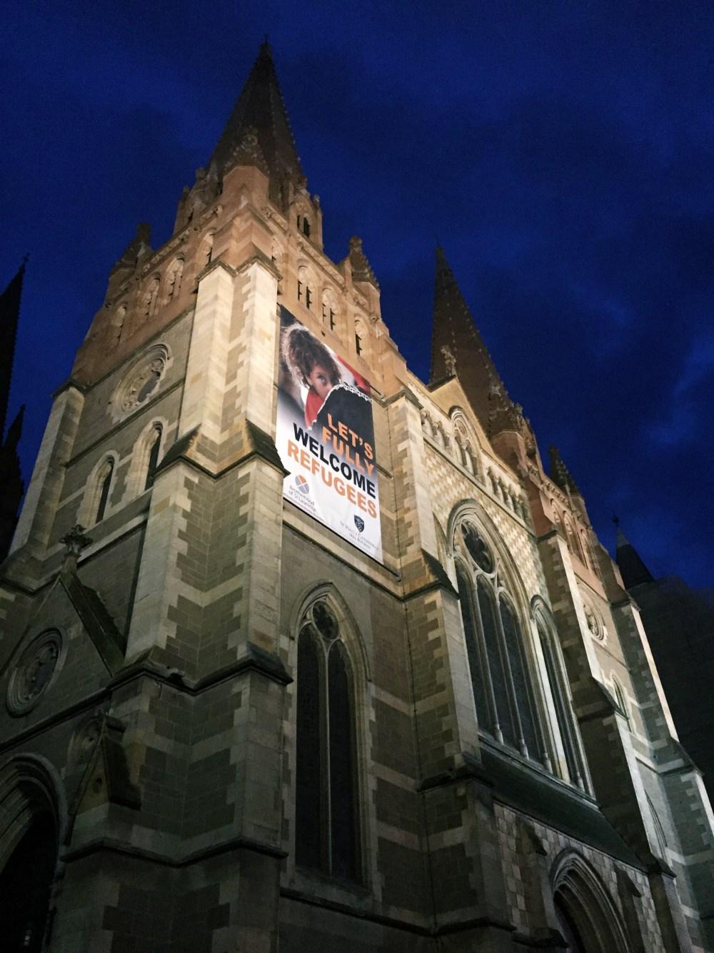 5 July 2016: St. Paul's Cathedral  | Melbourne CBD, Australia