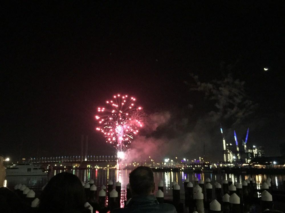 8 July 2016: Docklands Winter Fireworks 2016 | Melbourne, Australia